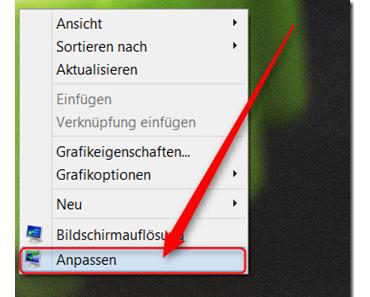 Windows 8: Automatische Farbanpassung der Taskleiste und Fensterrahmen ändern