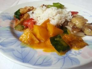 XU's Cooking – veganes Mittagsbuffet