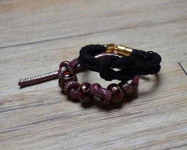 DIY: Armband zur Knoten-Halskette