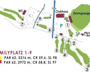 Kranichturnier, die Eröffnung des neuen 9 Loch Platz in Golf in Wall