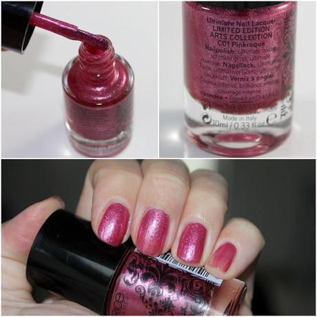 Catrice Arts Collection Limited Edition 'Barock Palette & Pinkroque Nagellack' *Review & Swatches*