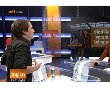 log in @ ZDFinfo mit LeFloid – Sind Games verspielte Lebenszeit?