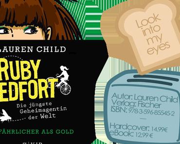 ¡Rezension!: Ruby Redfort - Gefährlicher als Gold