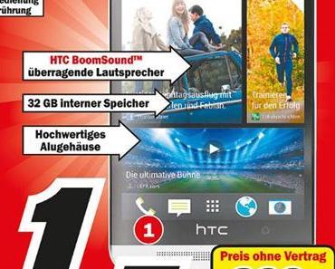 Praktikanten am Werk? HTC One – im Media Markt Wiesbaden starkt vergünstigt!