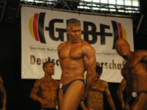Bodybuilder Pille Gewicht verlieren