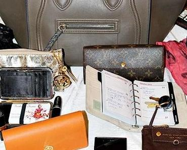 What´s in my bag - win a Celine Trapeze bag!