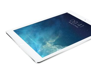 iPad Air präsentiert: iPad mini Design, dünner, leichter, 64 Bit, A7-Prozessor, 5MP iSight, Dual Mics