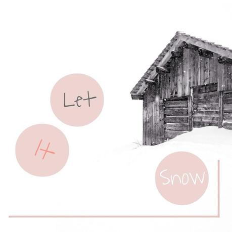 Let it snow print by lebenslustiger.com