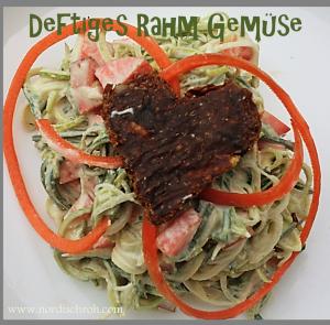 Deftiges Lauch-Rahm-Gemüse