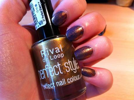 Sponging mit Rival de look 01 Perfect Glamour & Astor 260 Sophisticated Gold