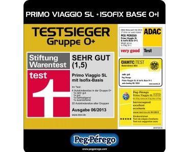 Peg-Pérego Primo Viaggio SL (mit Isofix-Basis) – die beste Babyschale im Test 2013