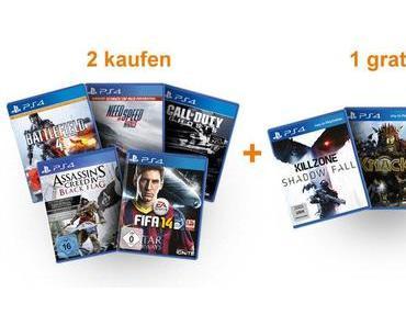 Amazon: Kaufe zwei PS4-Spiele und erhalte das dritte gratis!