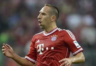 Sportallrounder: Fussballer Frank Ribery liebt alle Bayern! Das ist Völkerverständigung pur ...