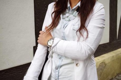 white on denim - Stylight Share Fashion Championship Look