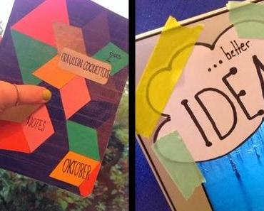 DIY - fixing ideas in a diary