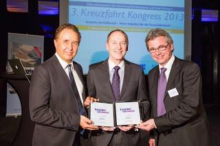 Kreuzfahrt Guide Award 2013: Doppelsieg für Hapag-Lloyd Kreuzfahrten mit der EUROPA 2 und der BREMEN
