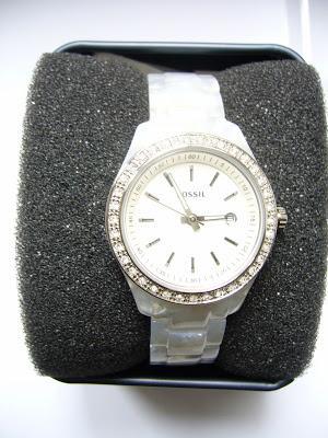 Meine neue FOSSIL Uhr in weiß