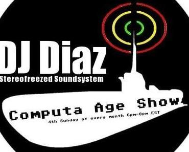 DJ Diaz @ Computa Age Show on SUB.FM (free bass music podcast)