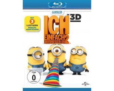 Filmkritik 'Ich – Einfach unverbesserlich 2′ (Blu-ray)