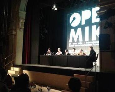 Auftakt zum Open Mike 2013