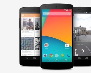 Google Nexus 5 kann ab sofort bei Amazon vorbestellt werden