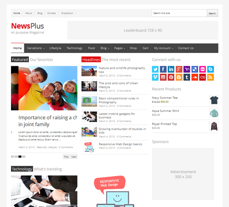 NewsPlus Themeforest