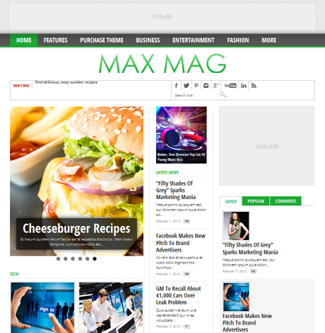 Max Mag Themeforest