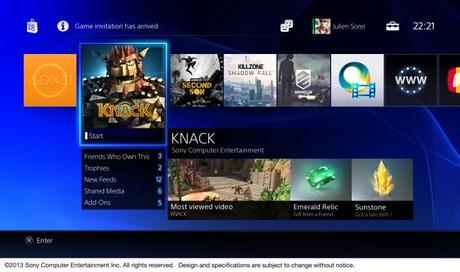 PS4: Interface im Video