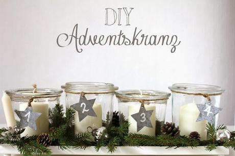 4 kreative ideen f r adventskr nze zum nachmachen expli blog for Wohnzimmertisch do it yourself