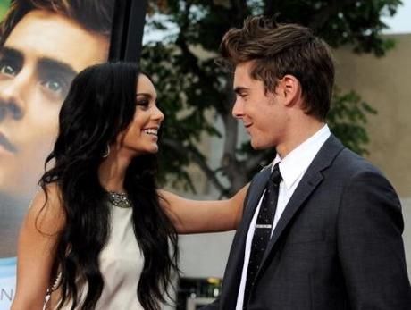 LOS ANGELES, CA - JULY 20: Actors Vanessa Hudgens (L) and Zac Efron arrive at the premiere of Universal Pictures' 'Charlie St. Cloud' at the Village Theater on July 20, 2010 in Los Angeles, California. (Photo by Kevin Winter/Getty Images)