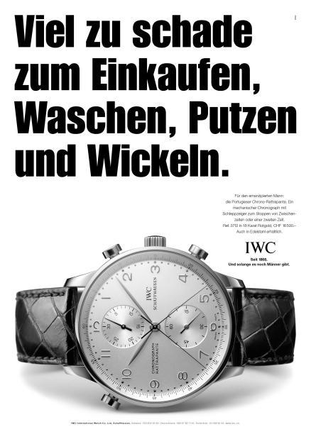 Werbung Uhr