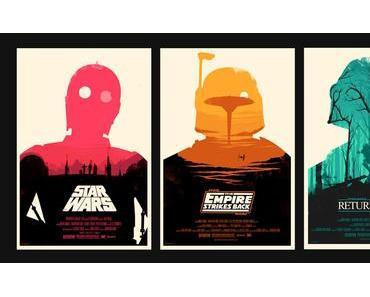Schönes Star Wars Poster Design
