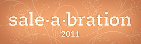 Sale~A~Bration 2011 ……..