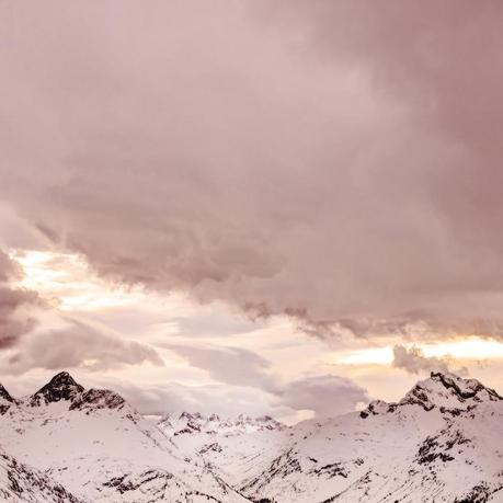 pink austrian mountains, Rosa Alpen