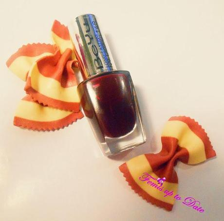 BEYU Long-Lasting Nail Lacquer Midnight Ruby