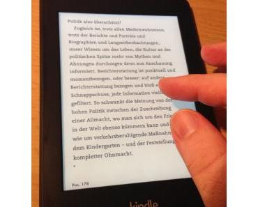 Amazon Kindle Paperwhite (2013) im Test