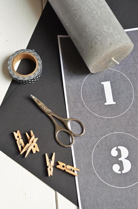 puristischer adventskranz ohne tannenzweige diy mit. Black Bedroom Furniture Sets. Home Design Ideas