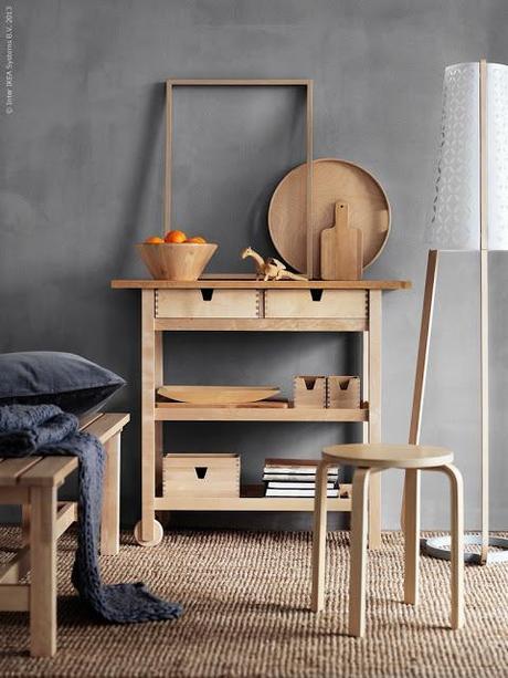 wohntrend helles holz. Black Bedroom Furniture Sets. Home Design Ideas