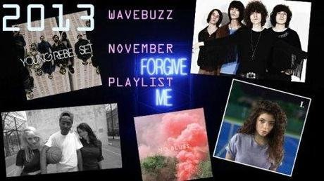 Die Wavebuzz Spotify November Playlist mit Blood Orange, Young Rebel Set, Lorde, Austra, Temples und vielen mehr !!