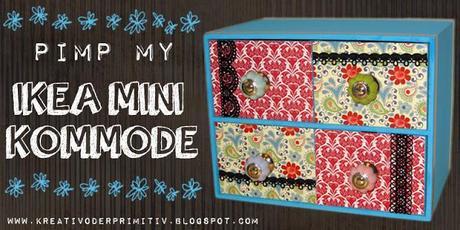 pimp my mini kommode. Black Bedroom Furniture Sets. Home Design Ideas