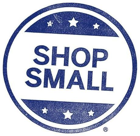 Kuriose Feiertage - 30. November 2013 - Small Business Saturday - AMEX_Shop_Small_Stamp_RGB_Primary_Blue_Logo