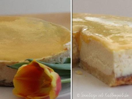 Sunshine White Chocolate Cheesecake alla Cynthia Barcomi