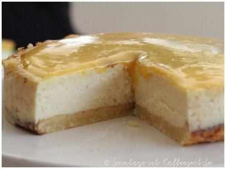 Sunshine White Chocolate CheesecakeSunshine alla Cynthia Barcomi
