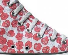 Flowers Blumen Print #Converse Schuhe All Star Chucks OX