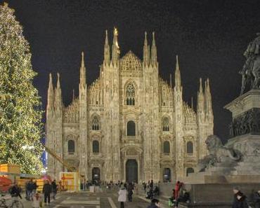 Weihnachtsmarkt in Mailand
