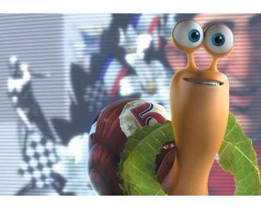 Im Kino mit Turbo, der kleinen Schnecke
