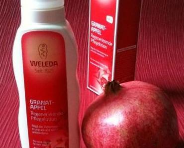 dufte: die WELEDA regenerierende Pflegelotion Granatapfel