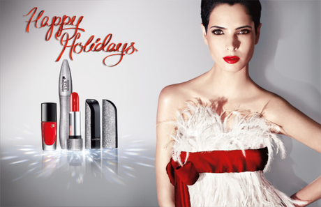 "Bild: © Lancôme ""Christmas Make-Up looks 2013"""