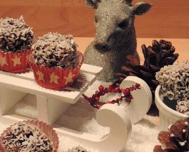 [Weihnachtsgeschenke Homemade With Love] Kokos-Rum-Würfel