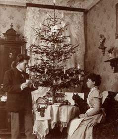 Fotoserie Deutsche Weihnacht 1900 – 1945
